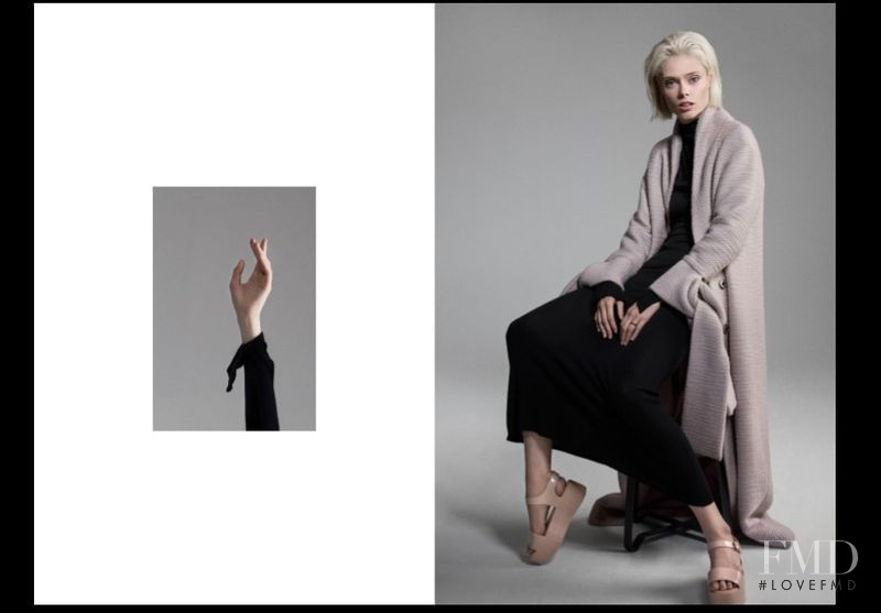 Coco Rocha featured in  the Behno advertisement for Autumn/Winter 2018