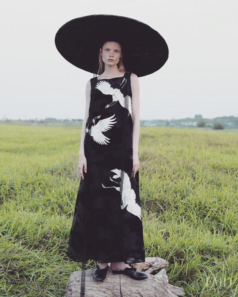 Ban Xiao Xue advertisement for Spring/Summer 2018