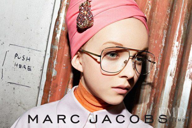Marc Jacobs Eyewear advertisement for Spring/Summer 2018