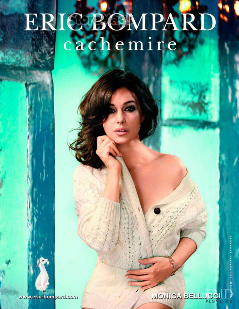 Monica Bellucci featured in  the Eric Bompard advertisement for Autumn/Winter 2011
