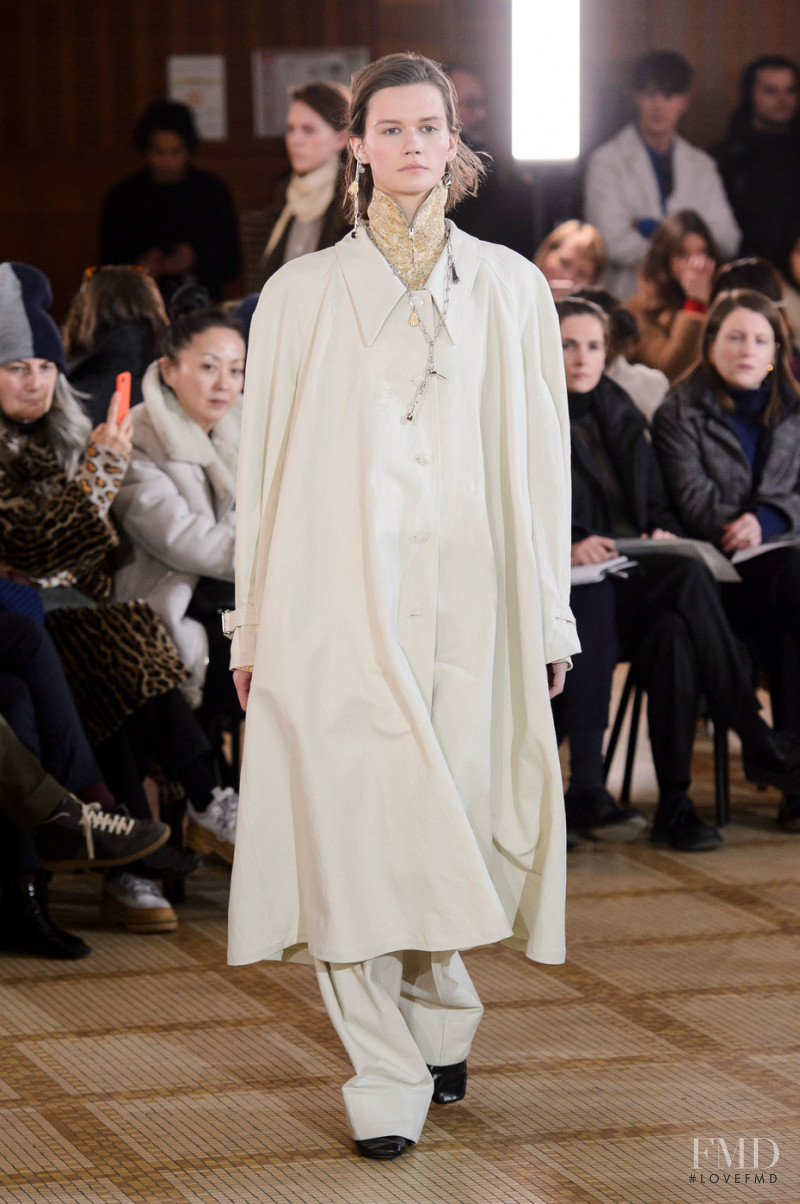 Christophe Lemaire fashion show for Autumn/Winter 2018