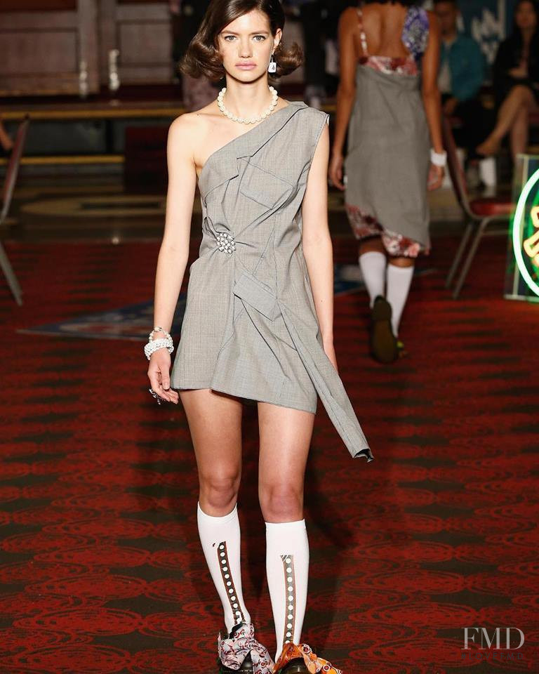 Carlotta Runze featured in  the Snow Xue Gao fashion show for Spring/Summer 2019