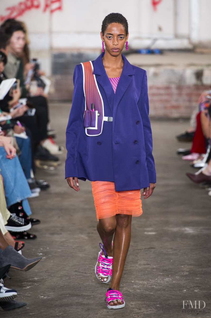 Virginie Lentulus featured in  the House of Holland fashion show for Spring/Summer 2019
