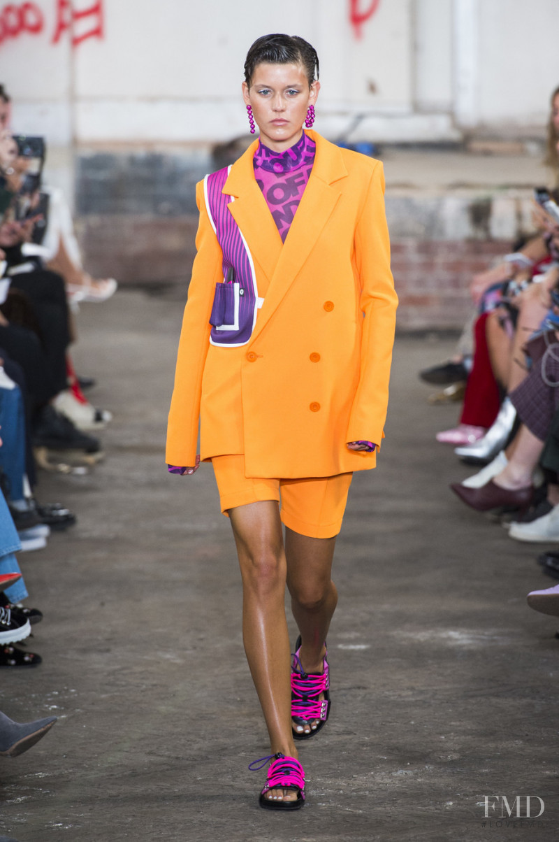 Vivienne Rohner featured in  the House of Holland fashion show for Spring/Summer 2019