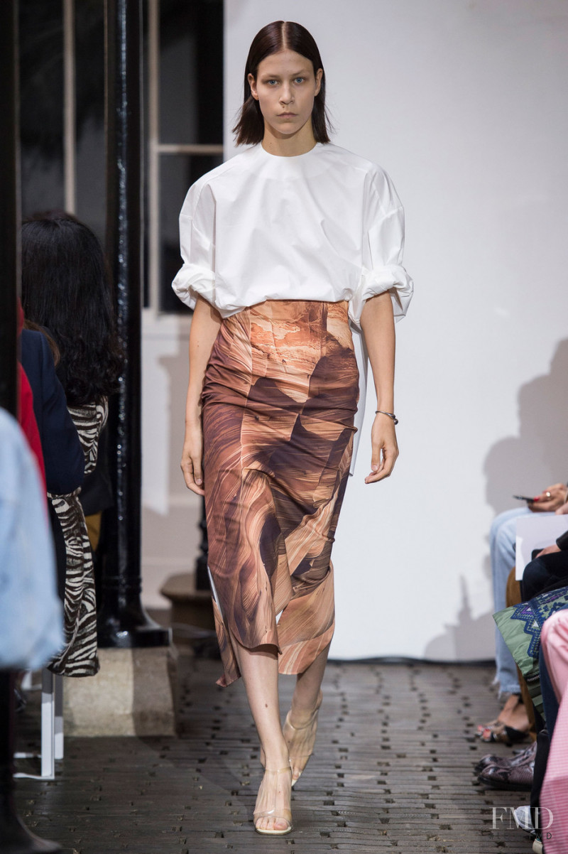 Laurien Van Der Holst featured in  the A.W.A.K.E. by Natalia Alaverdian fashion show for Spring/Summer 2019
