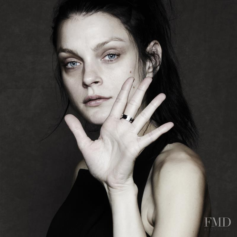 Jessica Stam featured in  the Bulgari Save The Children advertisement for Spring/Summer 2013