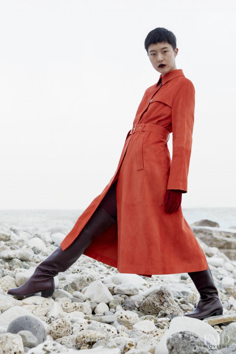 So Hyun Jung featured in  the Salvatore Ferragamo lookbook for Pre-Fall 2019