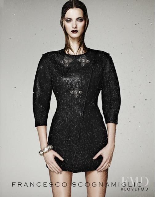 Denisa Dvorakova featured in  the Francesco Scognamiglio advertisement for Autumn/Winter 2010