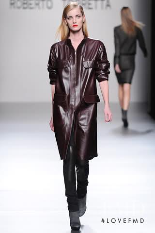 Denisa Dvorakova featured in  the Roberto Torretta fashion show for Autumn/Winter 2011
