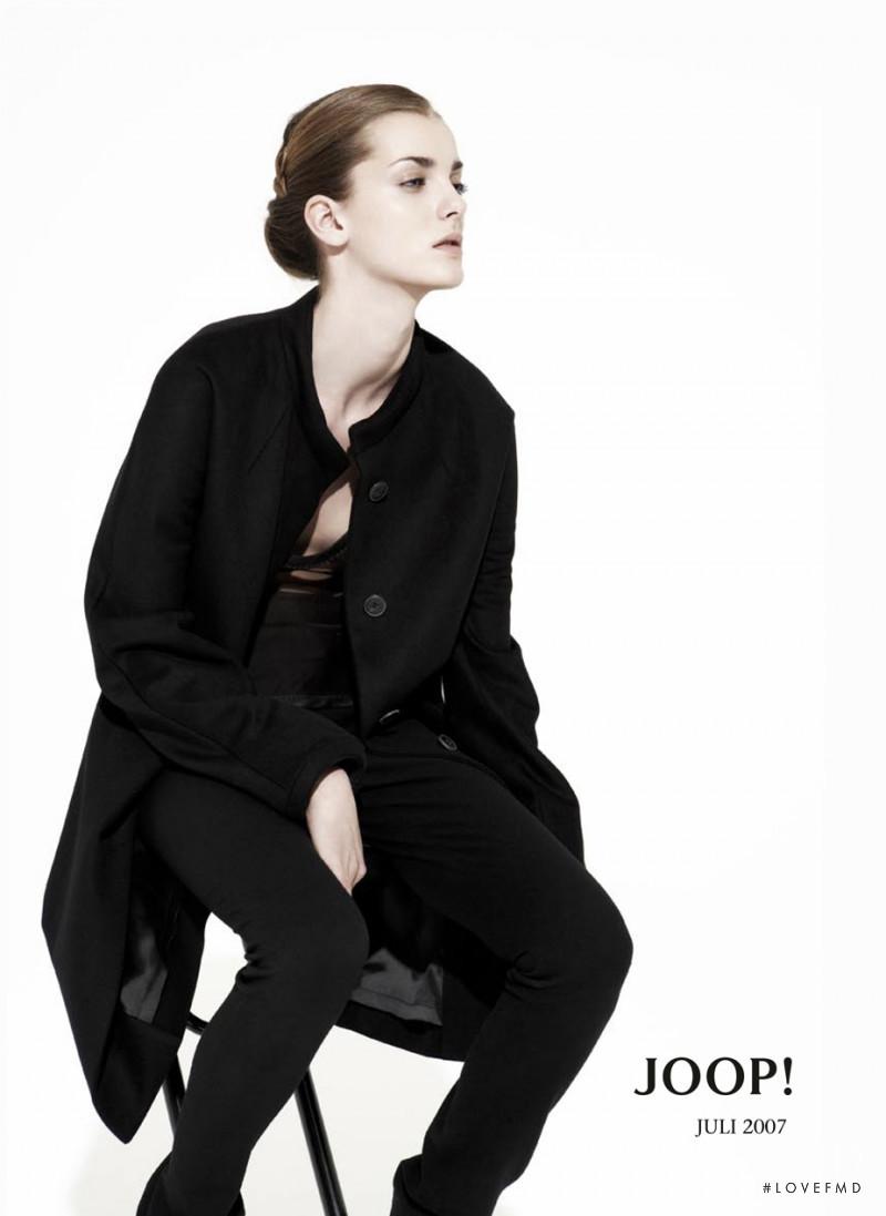 Denisa Dvorakova featured in  the Joop advertisement for Pre-Fall 2007