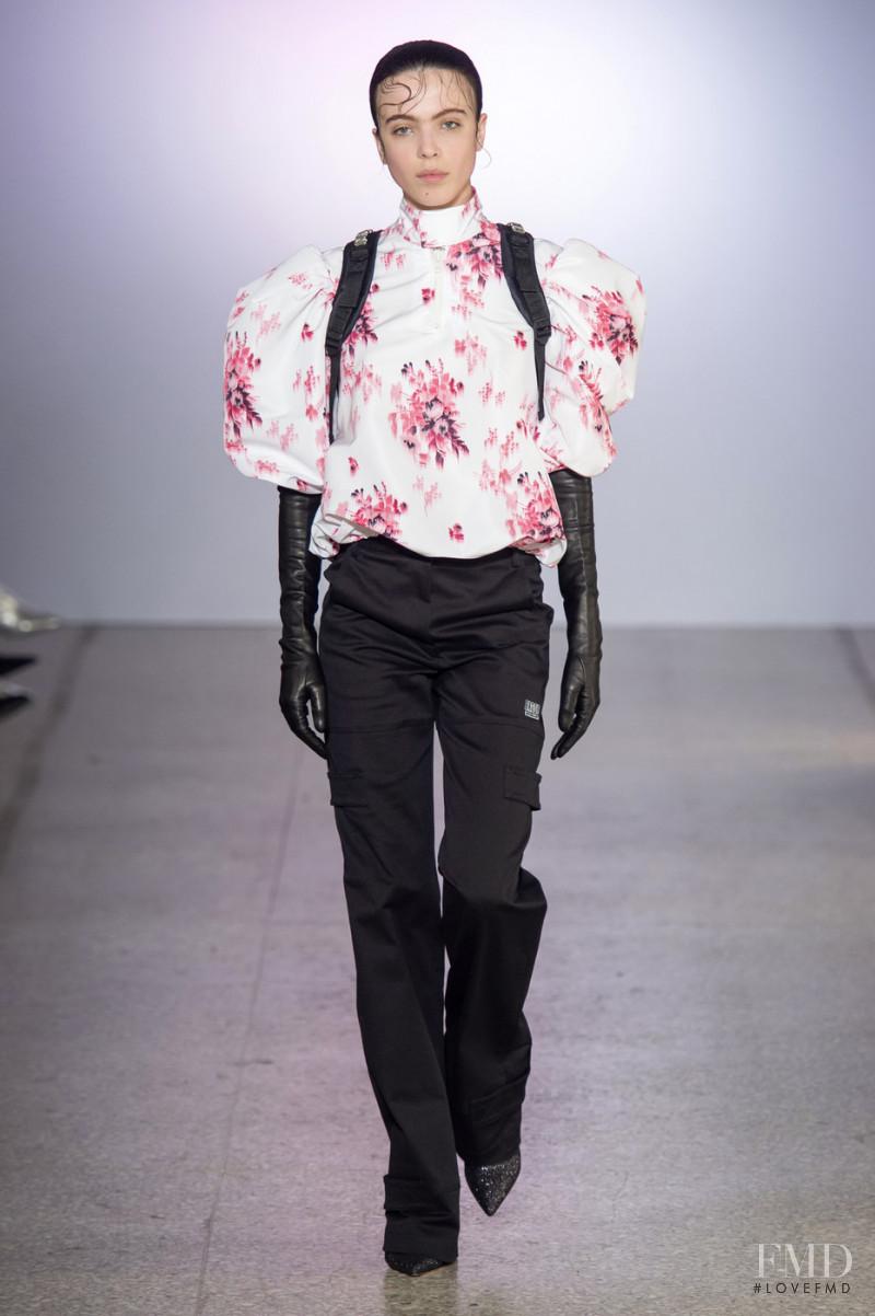 Scarlett Costello featured in  the BROGNANO fashion show for Autumn/Winter 2019