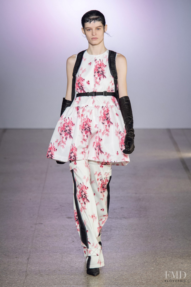 Hannah Elyse featured in  the BROGNANO fashion show for Autumn/Winter 2019