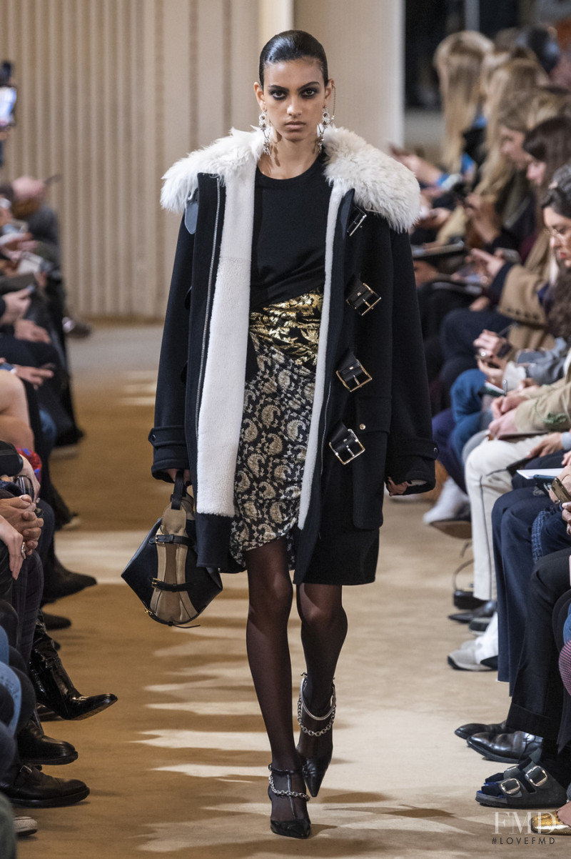 Mariana Barcelos featured in  the Altuzarra fashion show for Autumn/Winter 2019