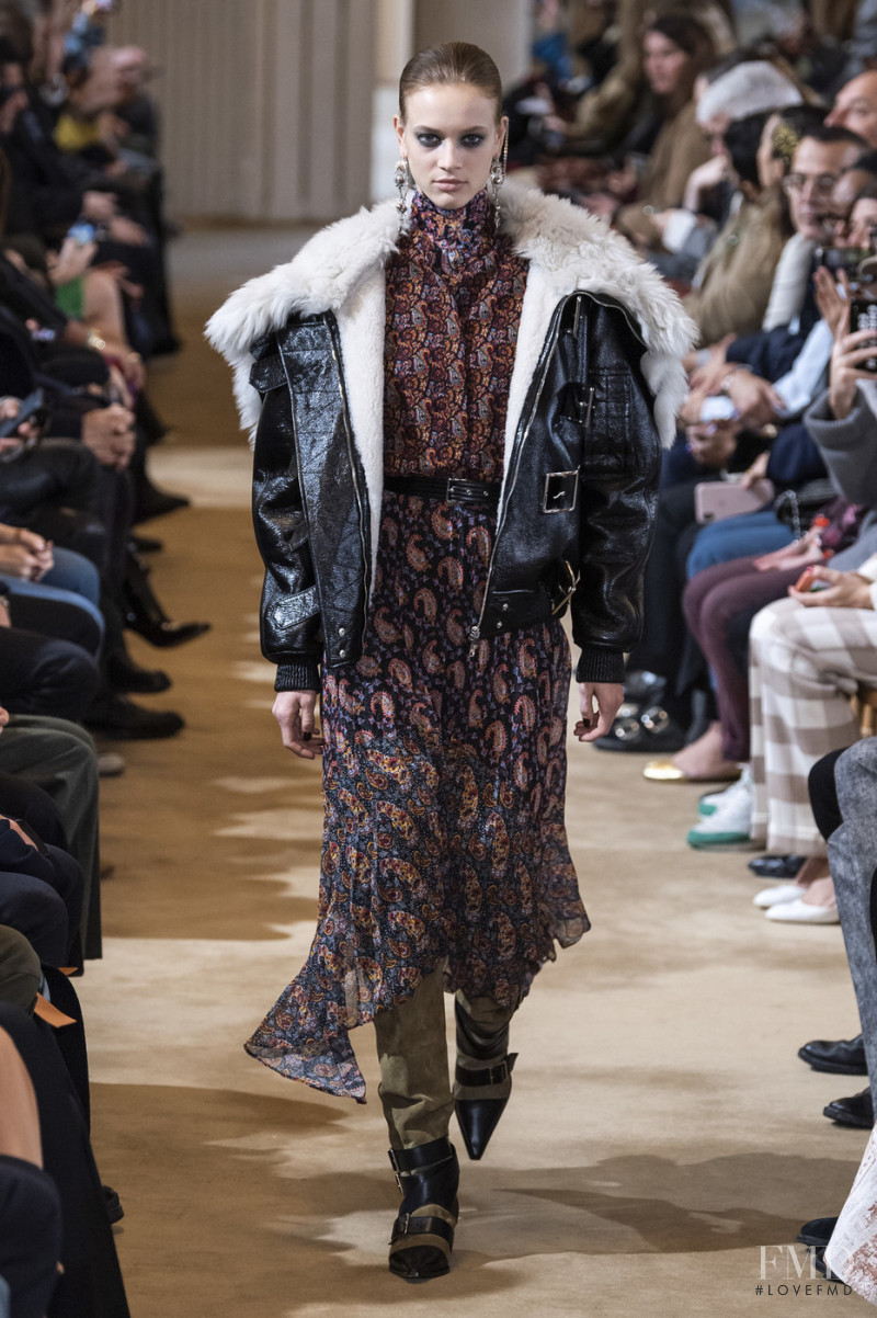 Sarah Dahl featured in  the Altuzarra fashion show for Autumn/Winter 2019