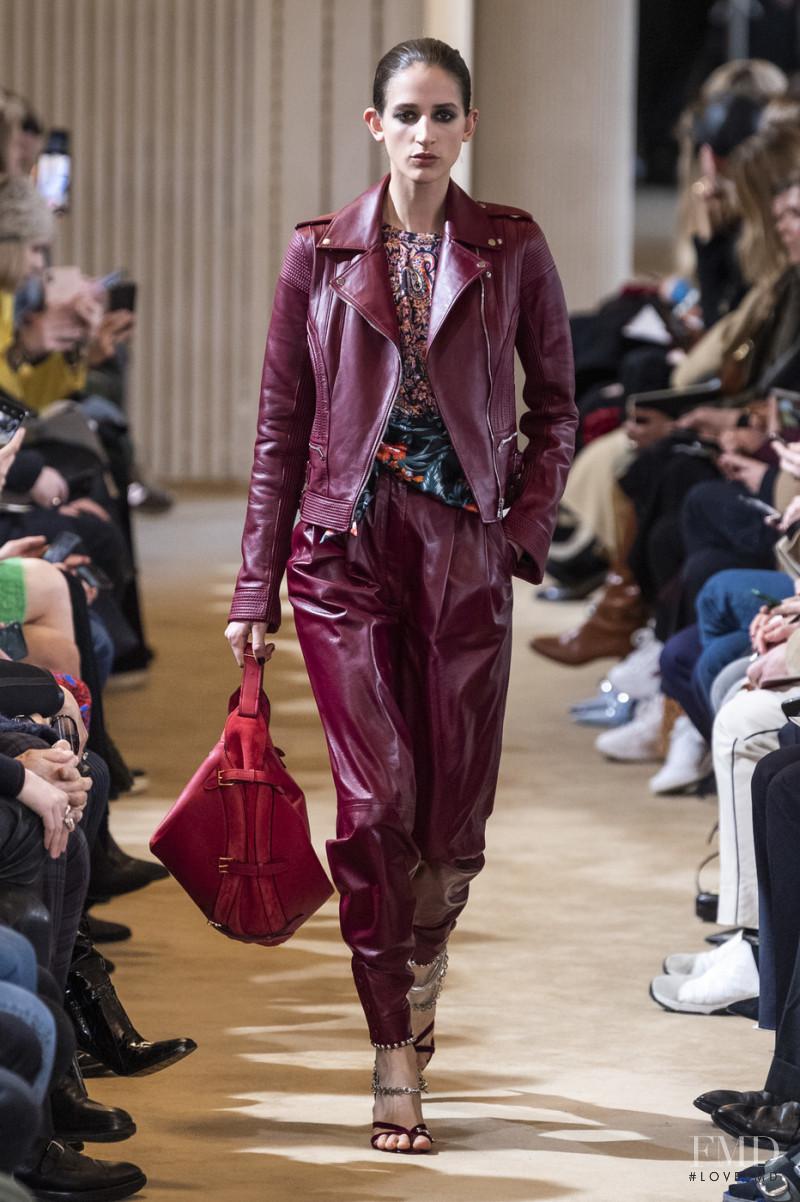 Rachel Marx featured in  the Altuzarra fashion show for Autumn/Winter 2019