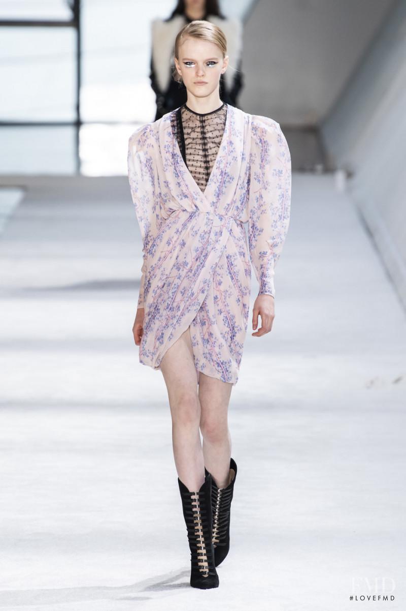 Hannah Motler featured in  the Giambattista Valli fashion show for Autumn/Winter 2019