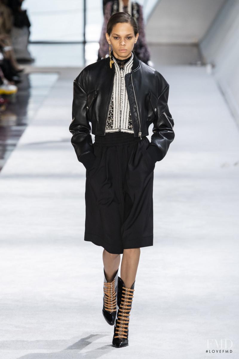 Hiandra Martinez featured in  the Giambattista Valli fashion show for Autumn/Winter 2019