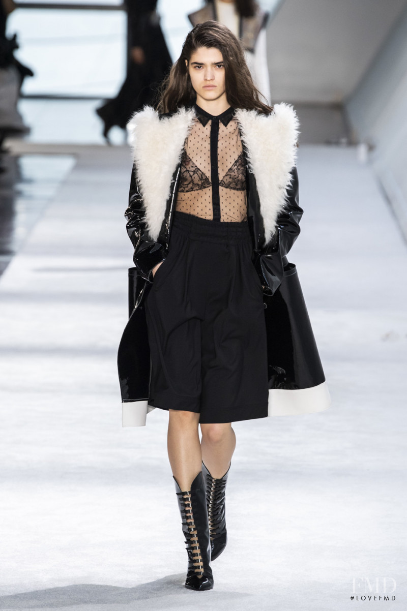 Alexandra Maria Micu featured in  the Giambattista Valli fashion show for Autumn/Winter 2019