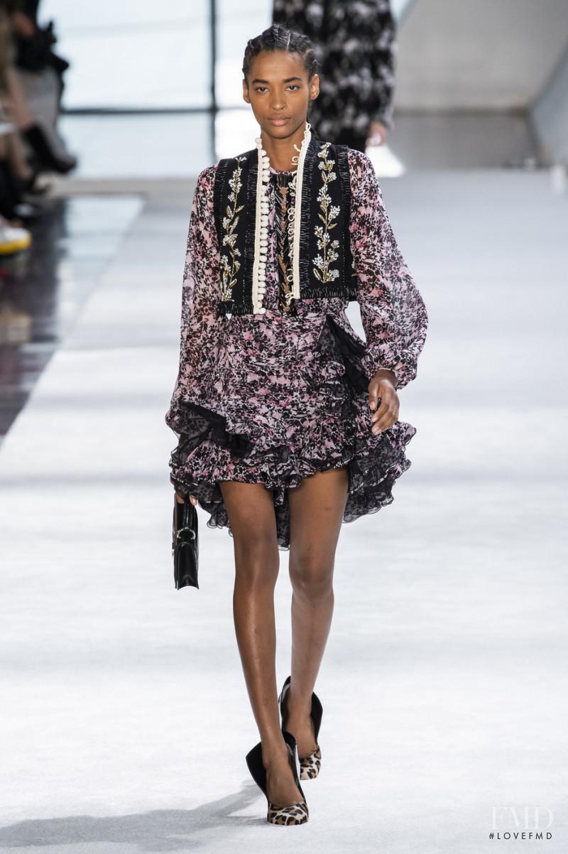 Ana Flavia featured in  the Giambattista Valli fashion show for Autumn/Winter 2019