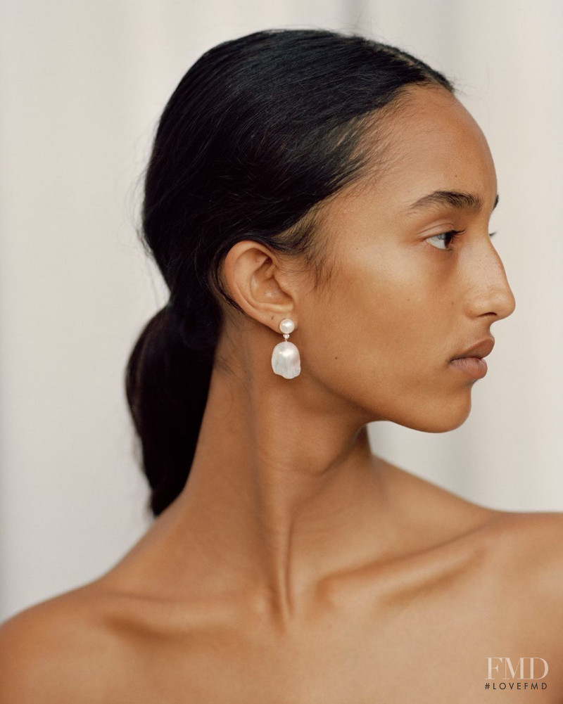 Mona Tougaard featured in  the Sophie Bille Brahe advertisement for Spring/Summer 2019