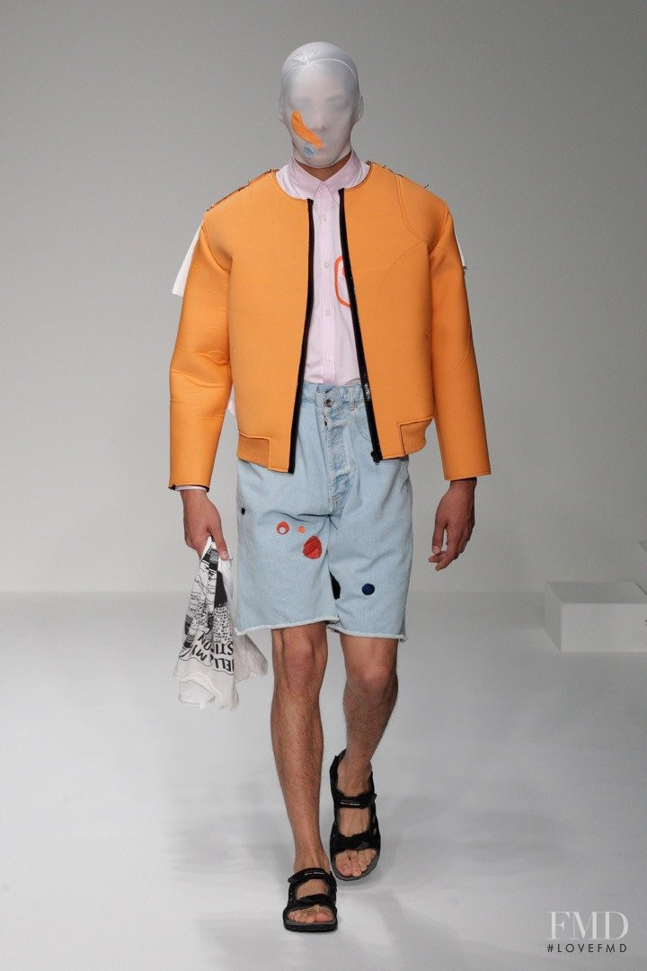 Martine Rose fashion show for Spring/Summer 2013