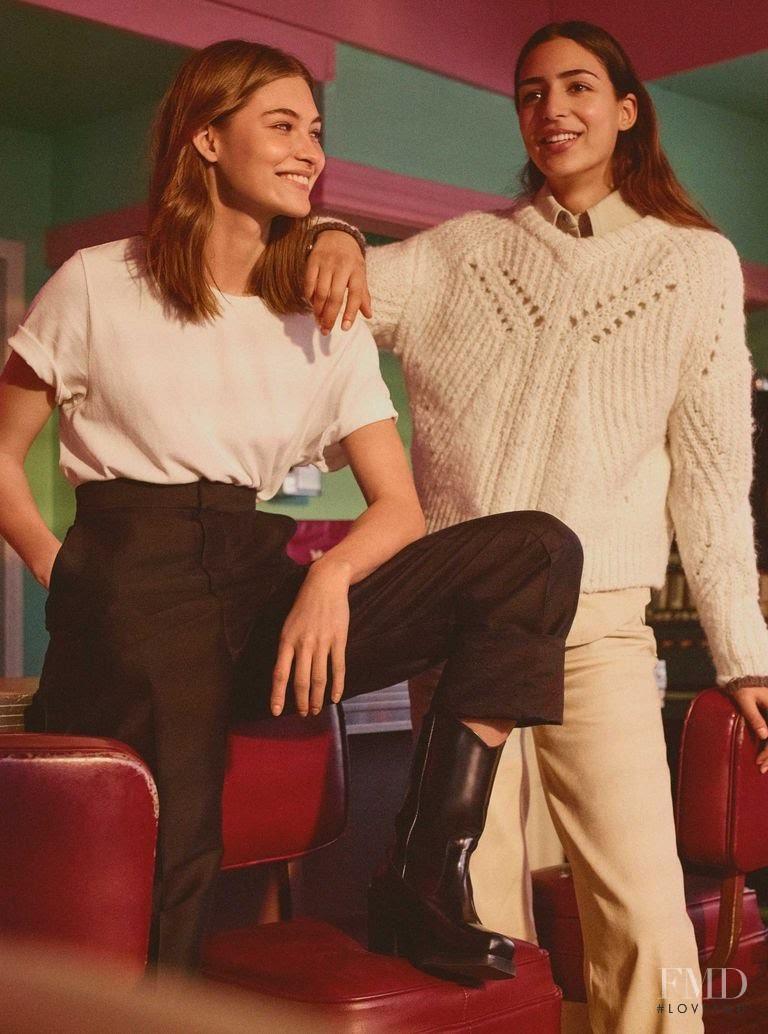 Grace Elizabeth featured in  the H&M Studio advertisement for Autumn/Winter 2018