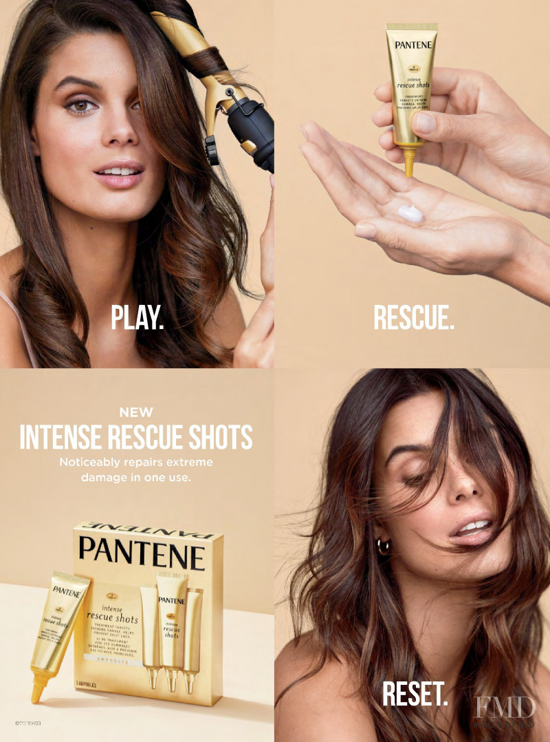 Pantene Intense Rescue Shots advertisement for Spring/Summer 2019