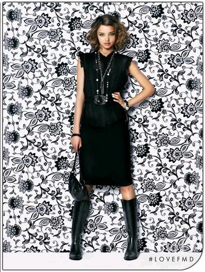 Miranda Kerr featured in  the Portmans advertisement for Spring 2005