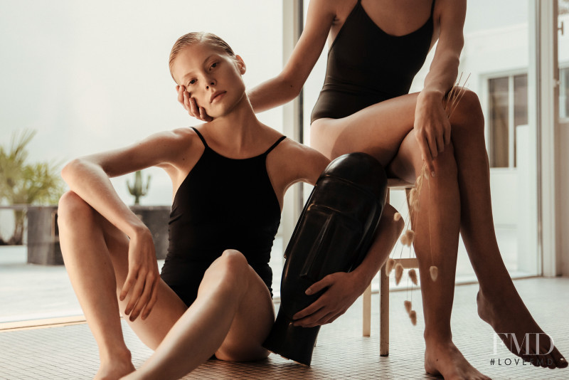 Sofie Theobald featured in  the Her Line advertisement for Resort 2017