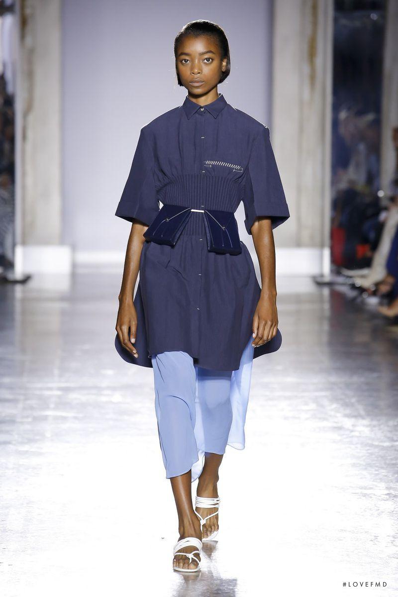 Olivia Anakwe featured in  the Gabriele Colangelo Gabriele Colangelo S/S 19 Show fashion show for Spring/Summer 2019