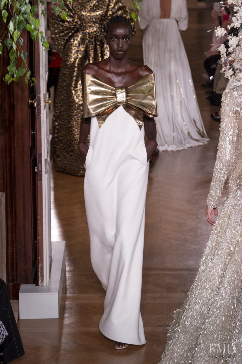 Niko Riam featured in  the Valentino Couture fashion show for Autumn/Winter 2019