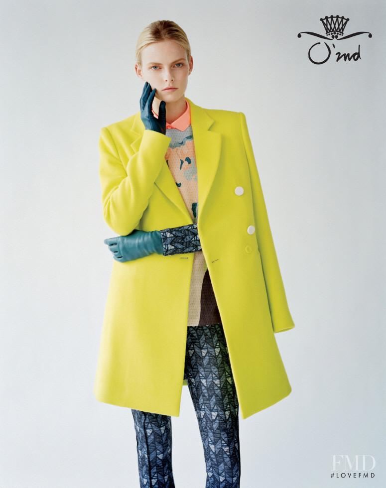 Elza Luijendijk Matiz featured in  the O\'2nd advertisement for Autumn/Winter 2012