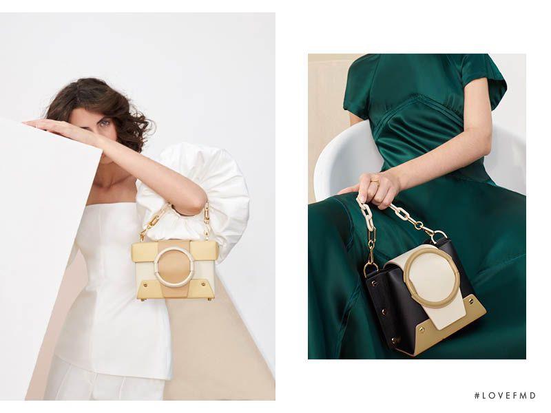 Leila Zandonai featured in  the Yuzefi Yuzefi S/S 19 lookbook for Spring/Summer 2019
