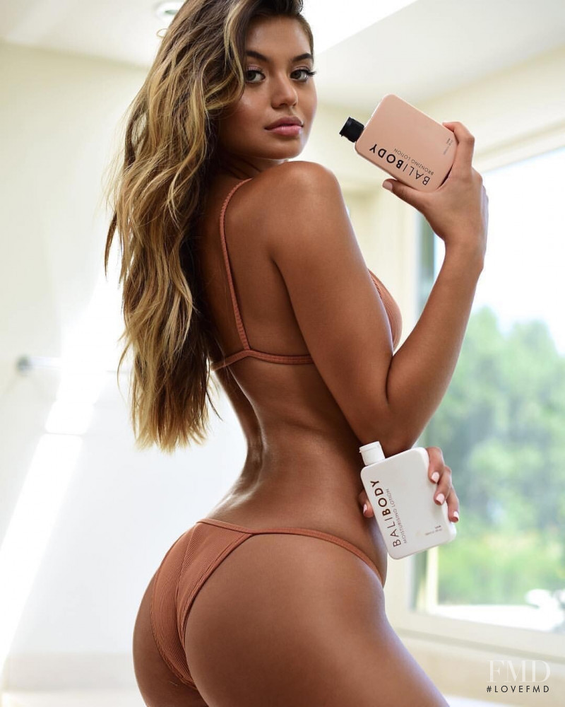 Sofia Jamora featured in  the Balibody advertisement for Spring/Summer 2019