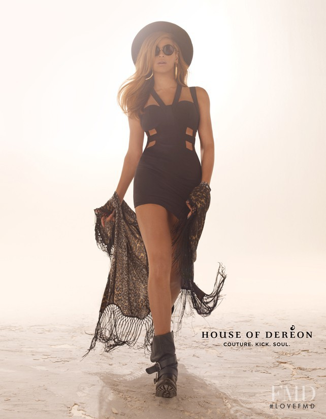 House Of Dereon advertisement for Autumn/Winter 2012