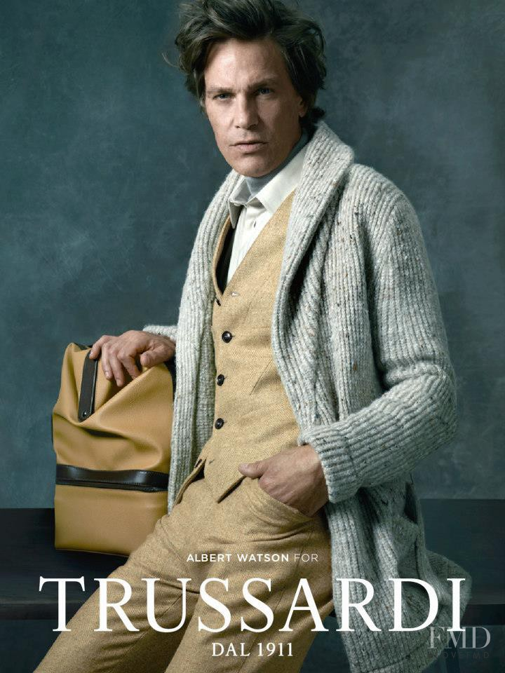 Trussardi 1911 advertisement for Autumn/Winter 2012