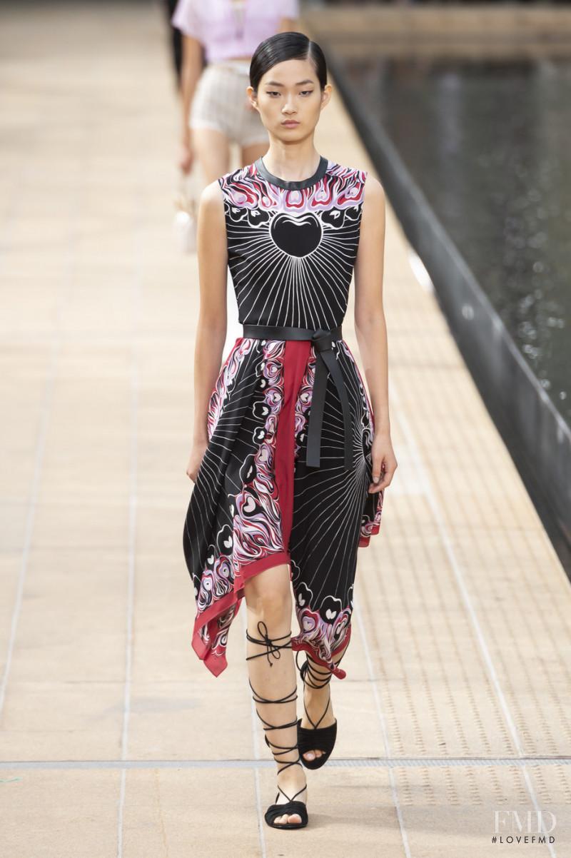 Hyun Ji Shin featured in  the Longchamp fashion show for Spring/Summer 2020