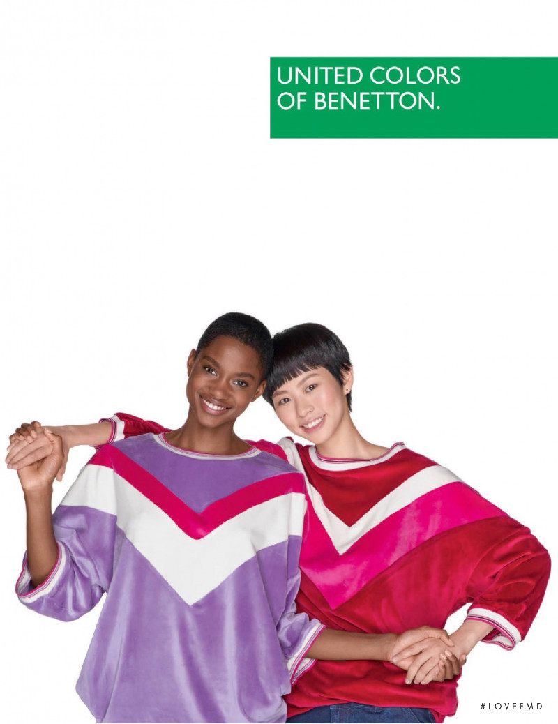 United Colors of Benetton advertisement for Autumn/Winter 2019
