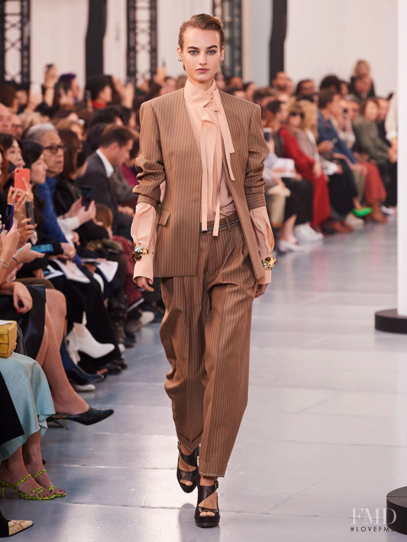 Maartje Verhoef featured in  the Chloe fashion show for Spring/Summer 2020