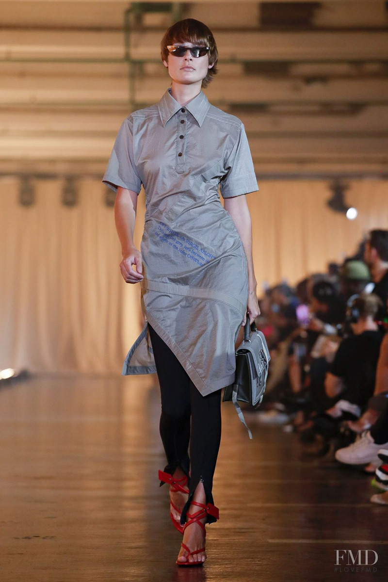 Inguna Butane featured in  the Off-White fashion show for Spring/Summer 2020
