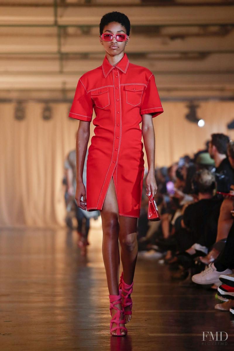 Naomi Chin Wing featured in  the Off-White fashion show for Spring/Summer 2020