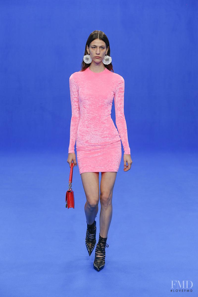 Pilar Boeris featured in  the Balenciaga fashion show for Spring/Summer 2020