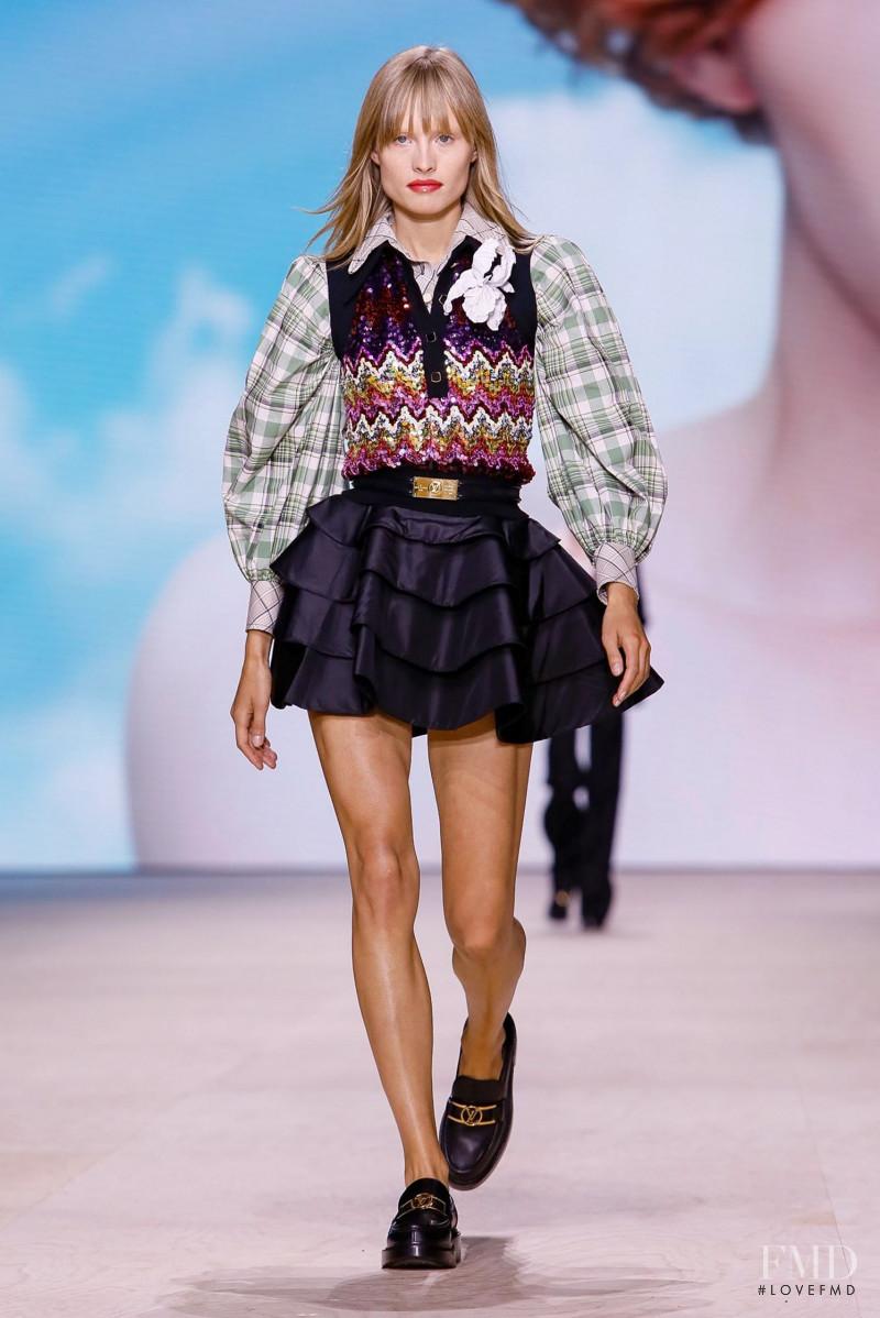 Klara Kristin featured in  the Louis Vuitton fashion show for Spring/Summer 2020