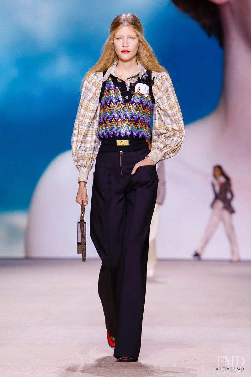 Mariam De Vinzelle featured in  the Louis Vuitton fashion show for Spring/Summer 2020