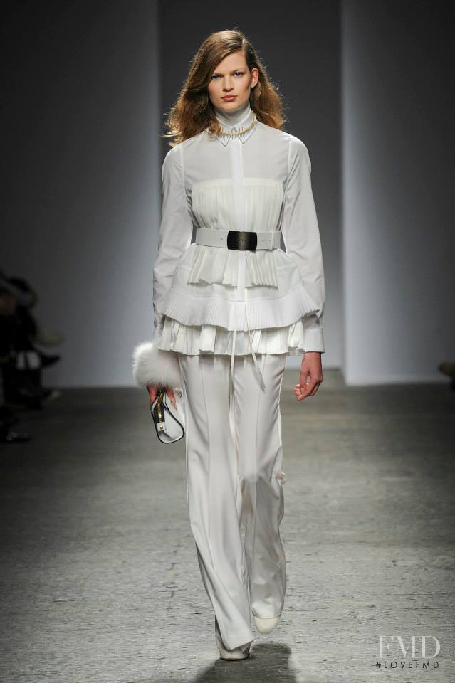 Bette Franke featured in  the Ports 1961 fashion show for Autumn/Winter 2014