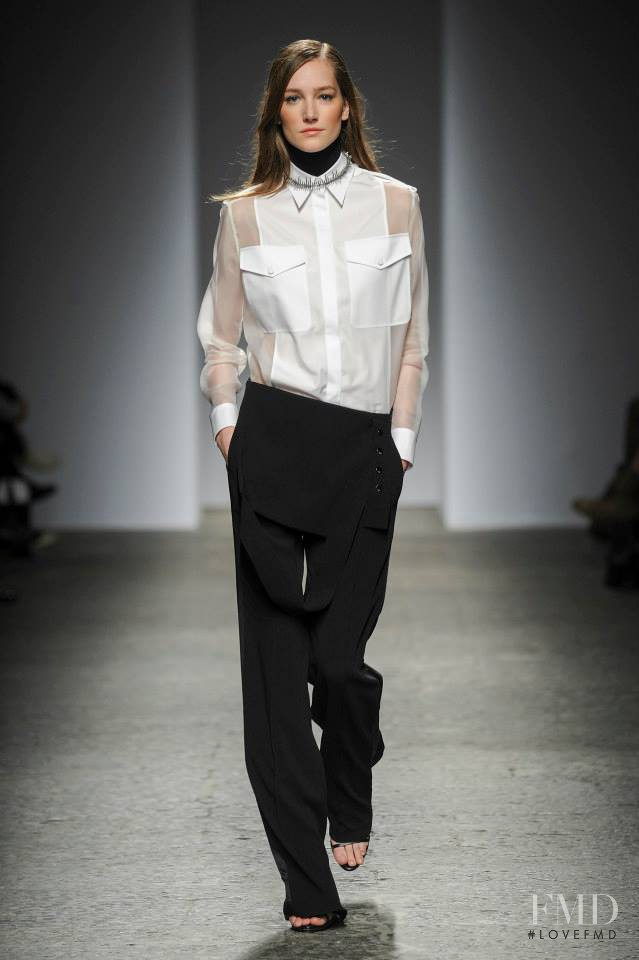 Joséphine Le Tutour featured in  the Ports 1961 fashion show for Autumn/Winter 2014