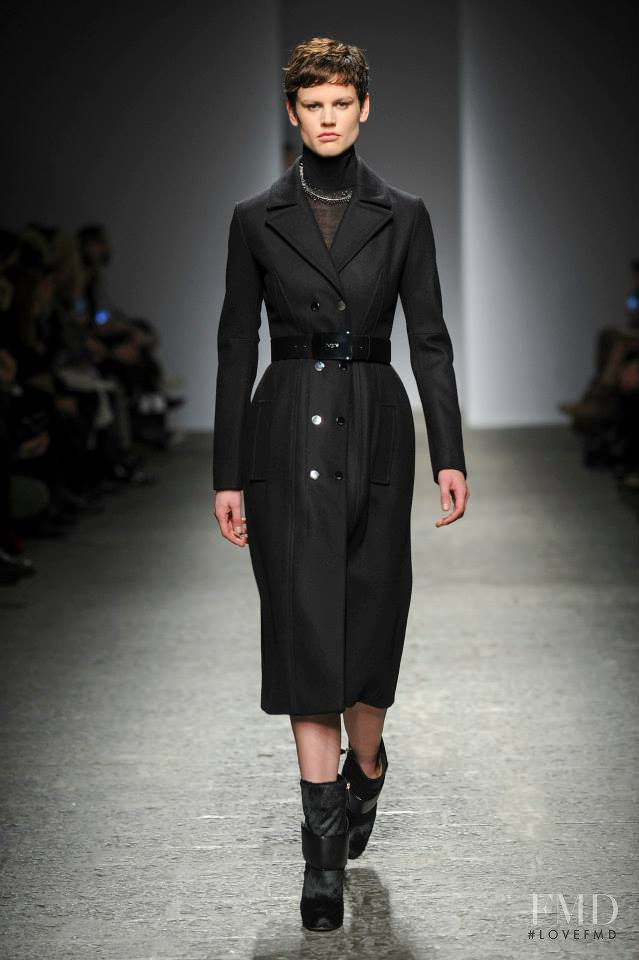 Saskia de Brauw featured in  the Ports 1961 fashion show for Autumn/Winter 2014