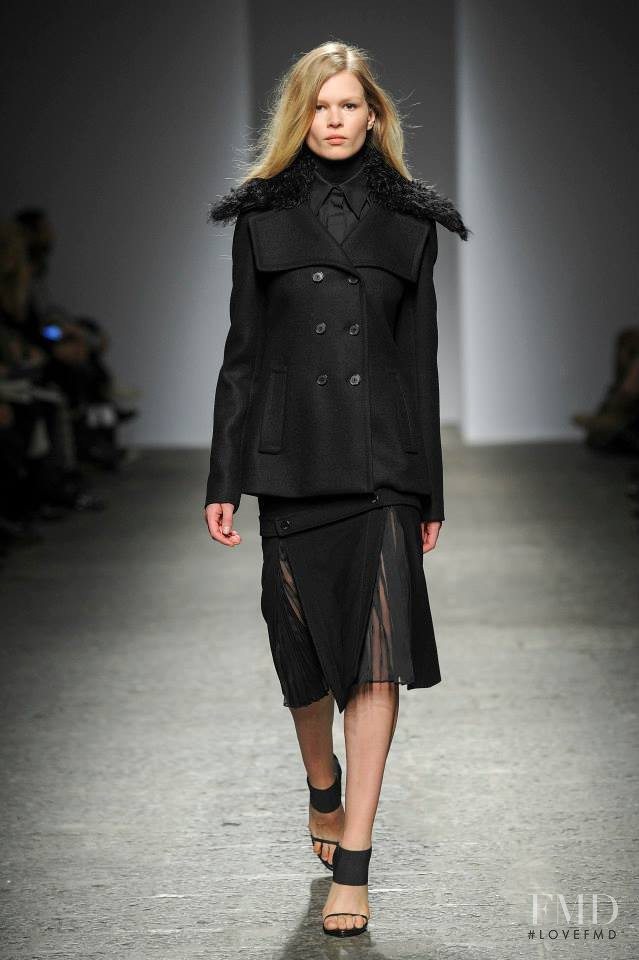 Anna Ewers featured in  the Ports 1961 fashion show for Autumn/Winter 2014