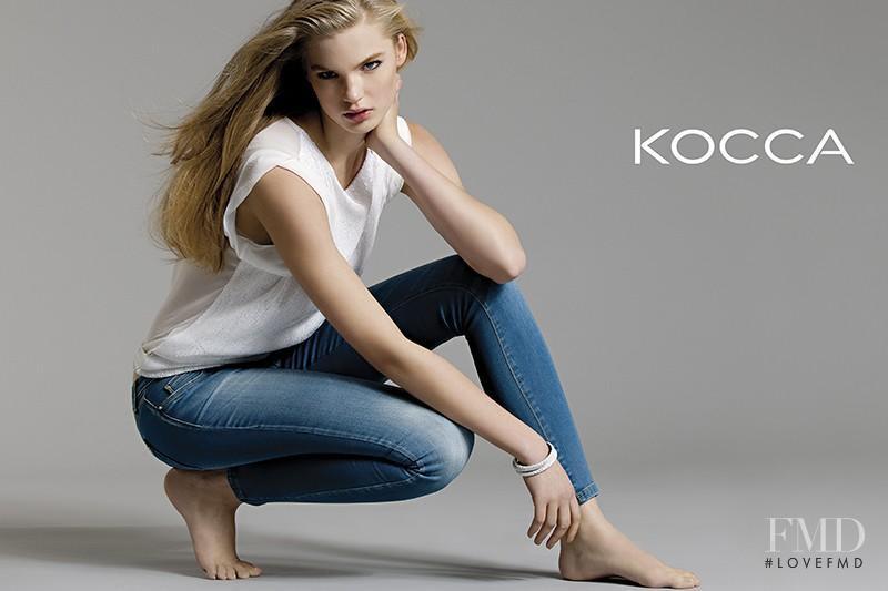 Isabel Scholten featured in  the Kocca Denim lookbook for Spring/Summer 2013