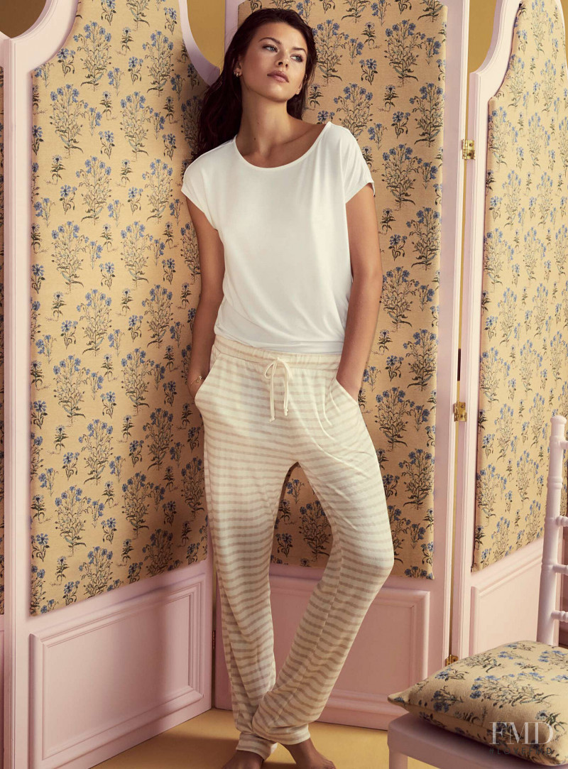 Georgia Fowler featured in  the Simons - La Maison Simons lookbook for Spring/Summer 2019